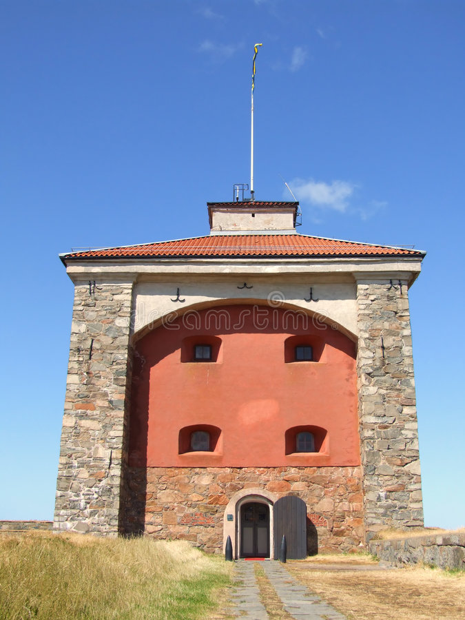 07 fästning gothenburg royaltyfria foton