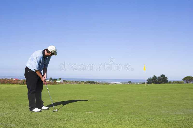 07 golf obrazy royalty free