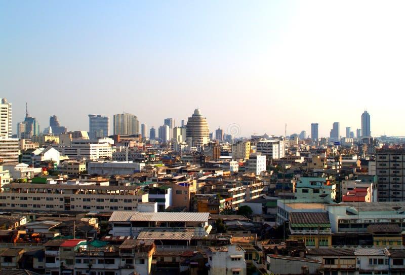 08曼谷俯视图 图库摄影