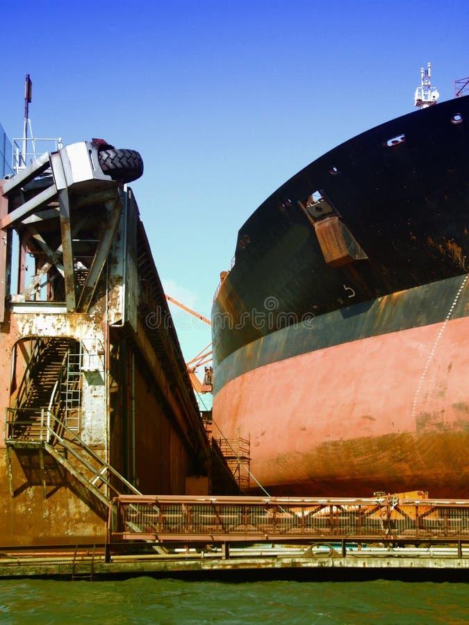 08 drydock gothenburg royaltyfria bilder