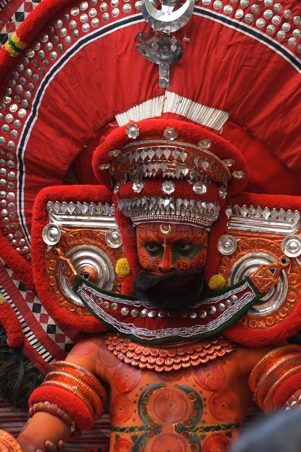 08 theyyam obrazy stock