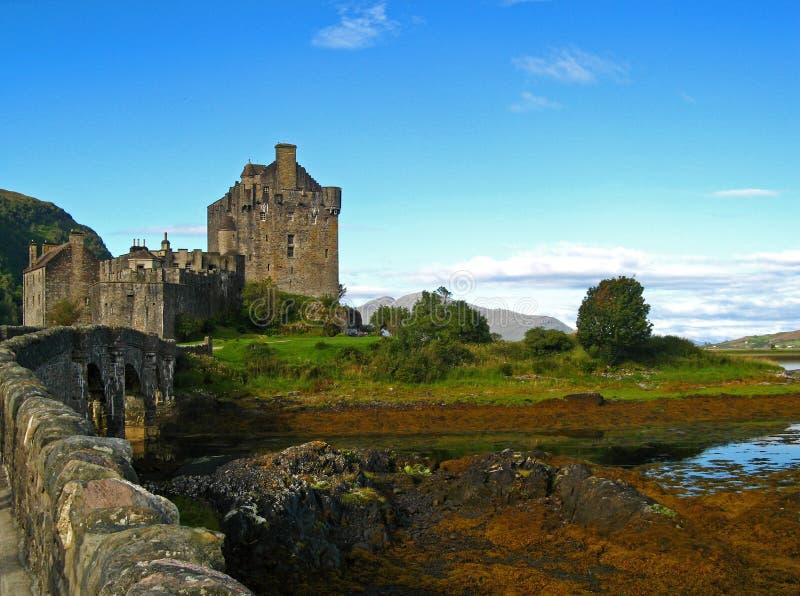 09 écossais des montagnes de château photos libres de droits