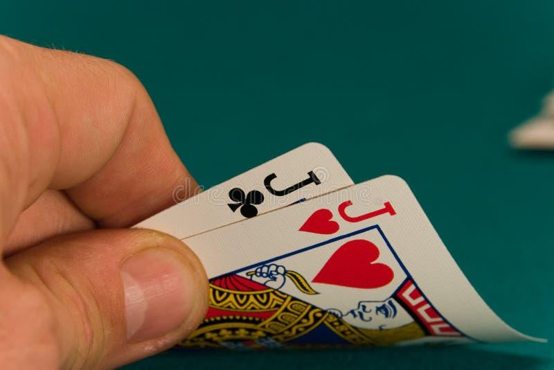 09 kart karcianych kareta waletów 2 zdjęcia stock