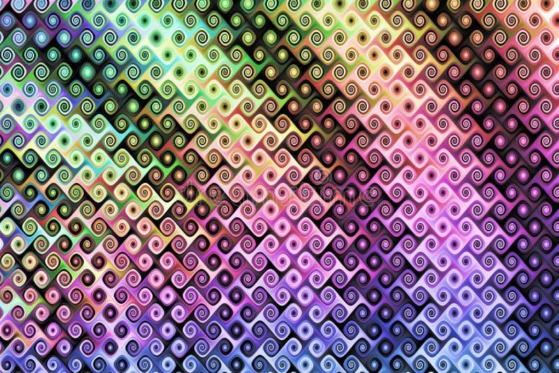 09m fractal royaltyfri illustrationer