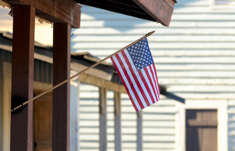 0n flaga amerykańska ganeczek obrazy royalty free