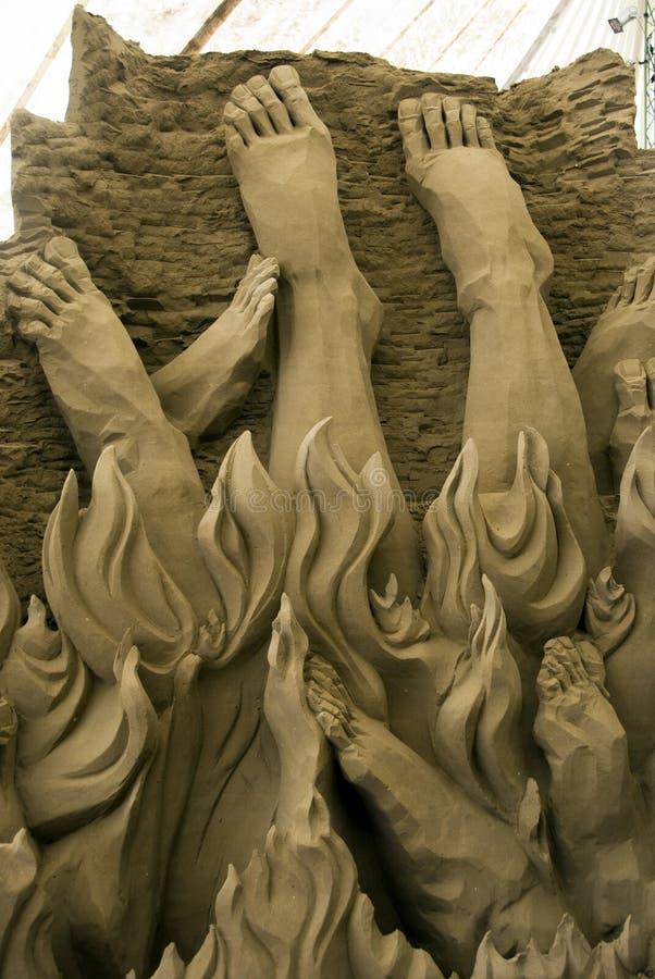 Download 1ò Festival Internacional De Esculturas Da Areia Imagem Editorial - Imagem de marrom, arenoso: 10054690
