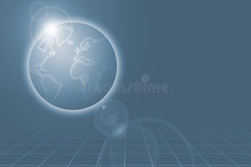 1个世界 向量例证