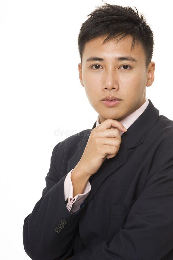 1个亚洲生意人 免版税库存照片