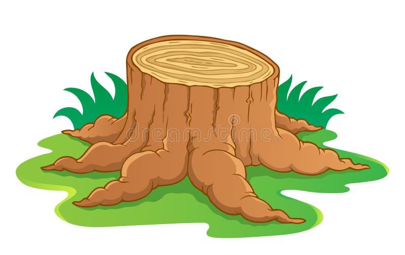 1个图象根主题结构树 向量例证