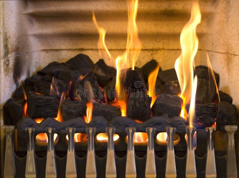 1个壁炉 库存图片