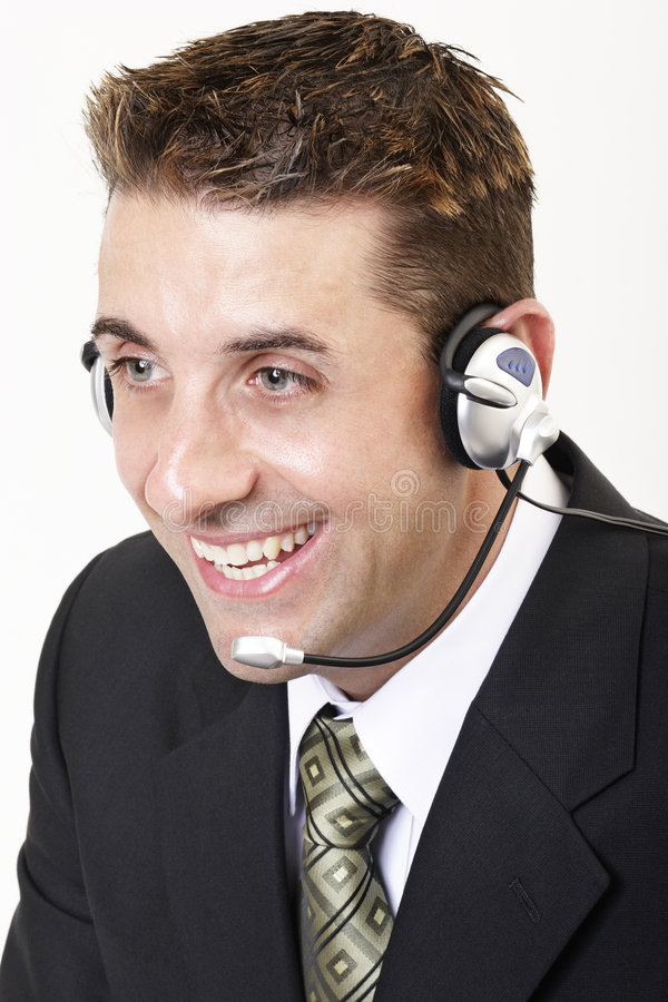 1个客户服务部 免版税库存图片