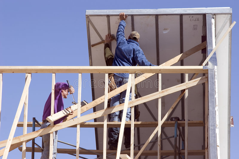1个屋顶部分 免版税库存照片