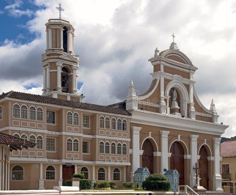 1个教会San Sebastian 库存图片