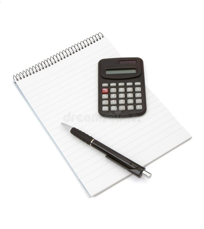 1个新的笔记本 免版税库存照片