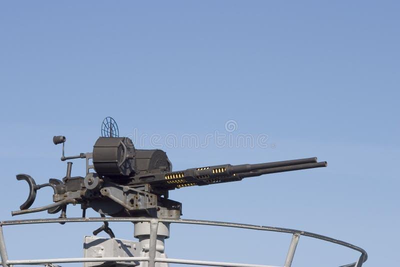 1个枪设备 库存照片