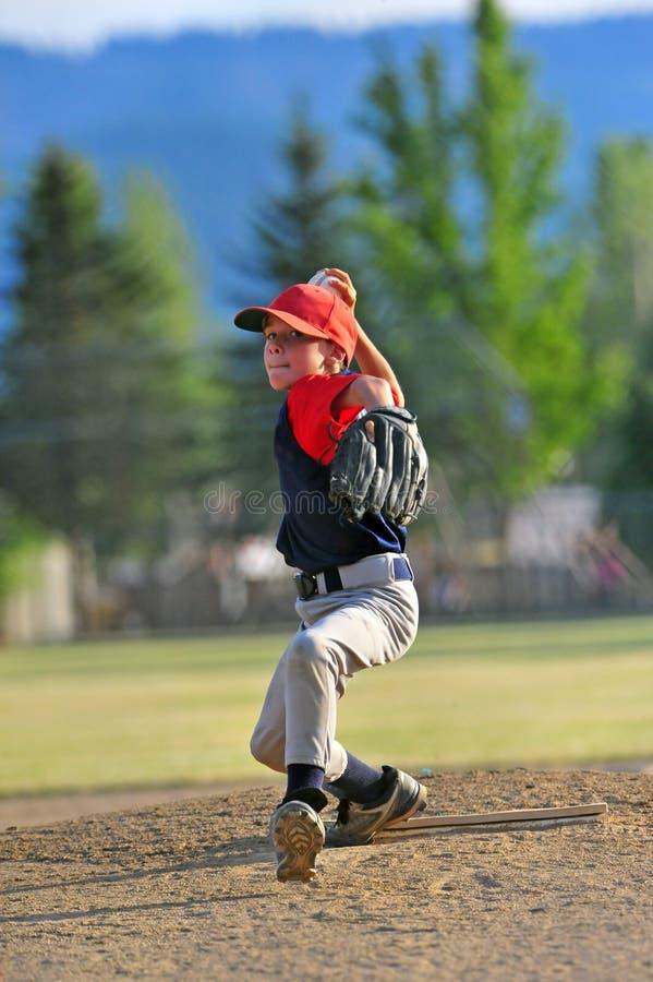 1个棒球投手 免版税库存照片