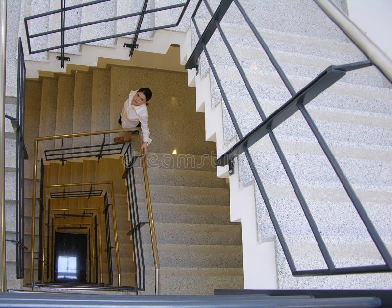 1个楼梯 库存图片