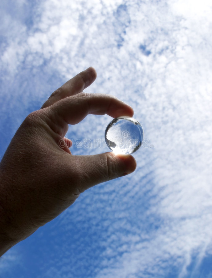 1个水晶范围 图库摄影