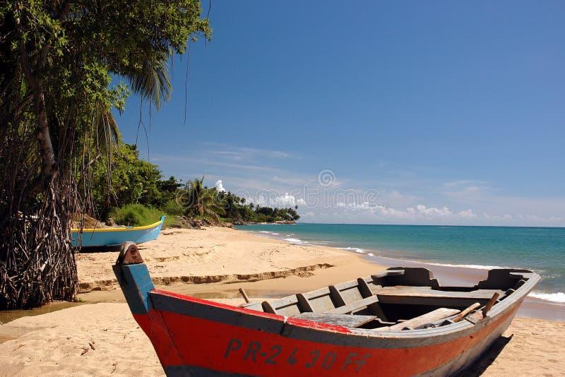1个海滩视图 免版税库存照片