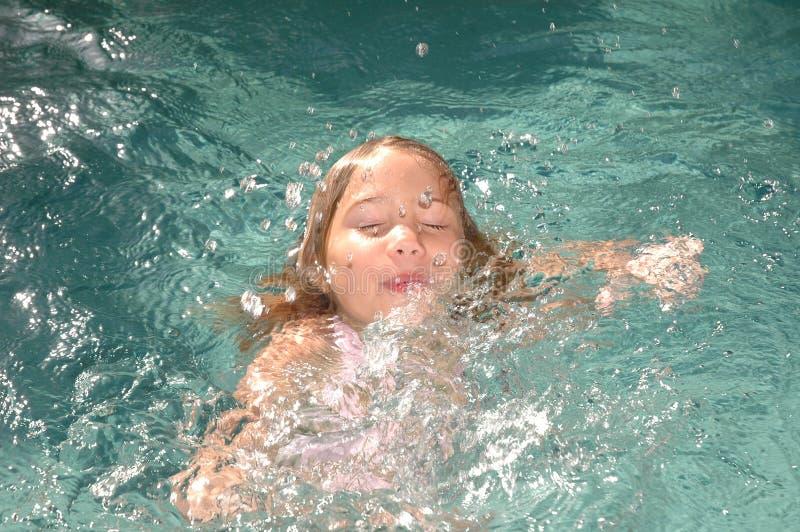 1个淹没的系列 免版税库存图片