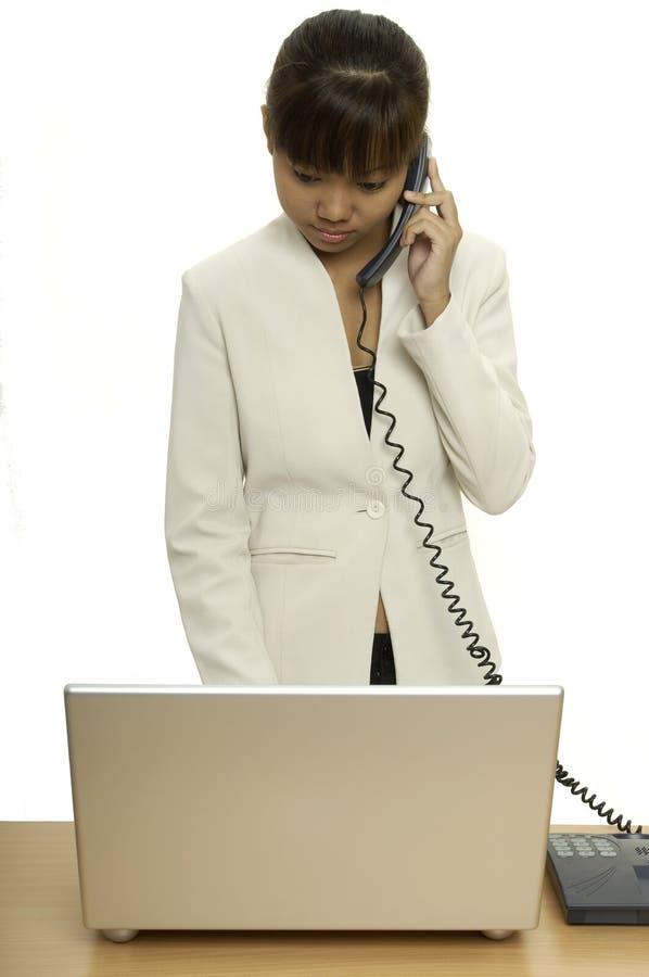 1个电话 免版税库存图片