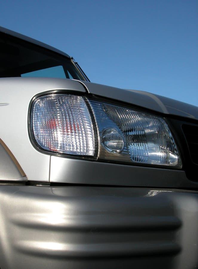 1个车灯 库存图片