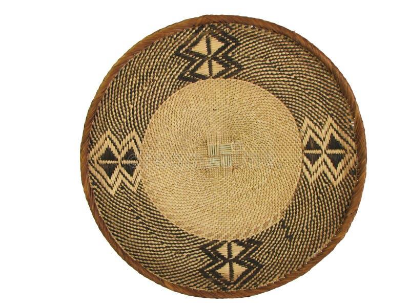1个非洲篮子 图库摄影