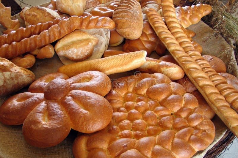 1个面包店 库存照片