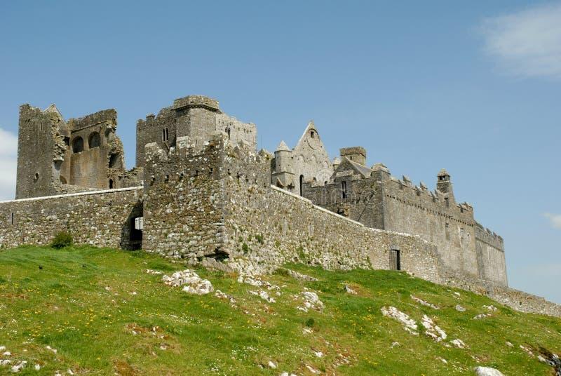 1个cashel爱尔兰岩石 免版税库存图片