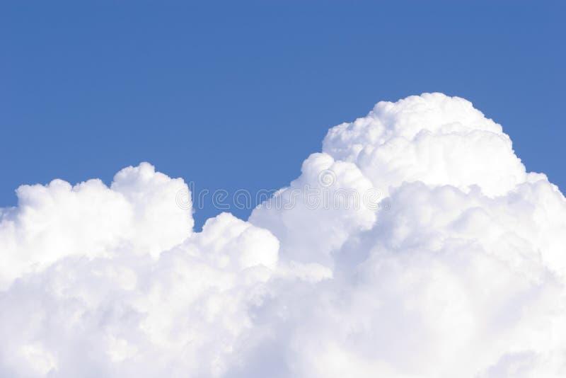 1云彩积云 库存图片