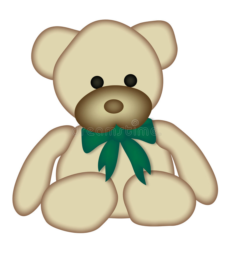 1件熊女用连杉衬裤 库存例证