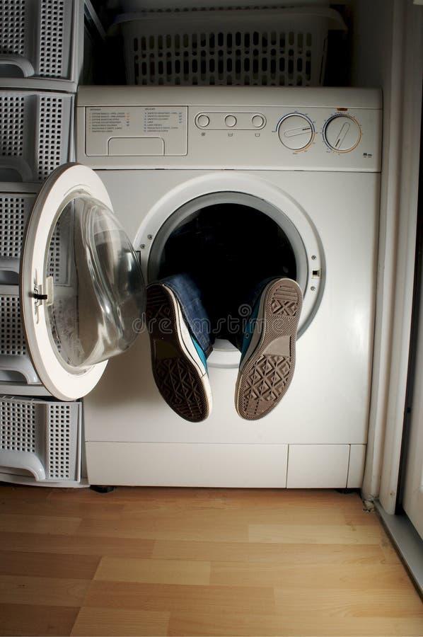 1件设备洗涤物 免版税库存图片