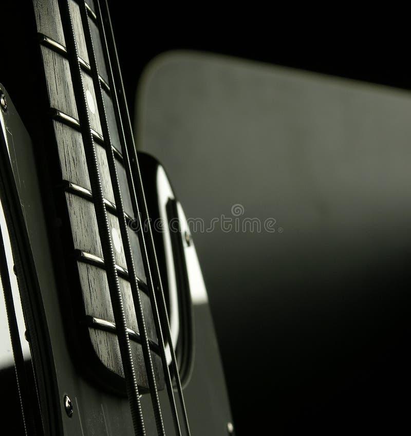 1低音吉它 免版税库存照片