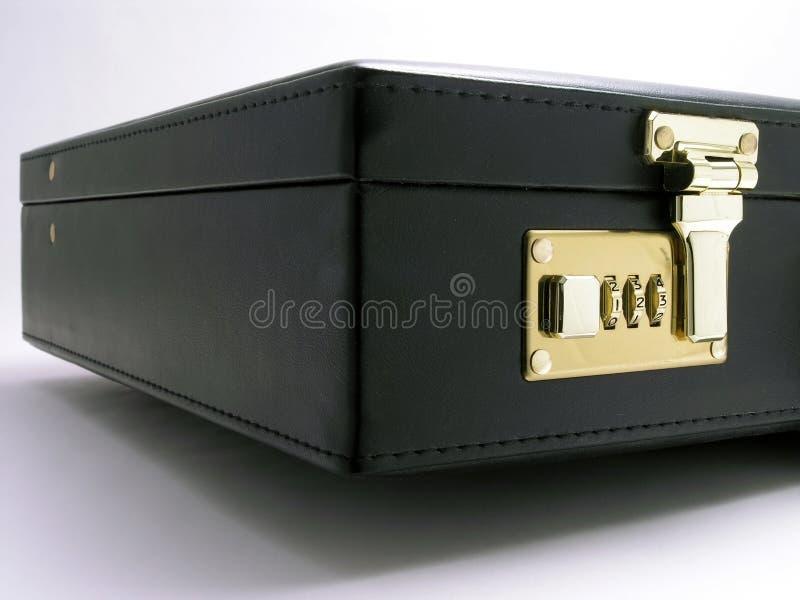 1公文包皮革 免版税库存照片