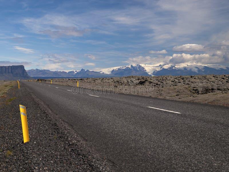 1冰岛没有路 免版税库存照片