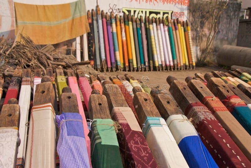 1加尔各答织品 免版税库存图片