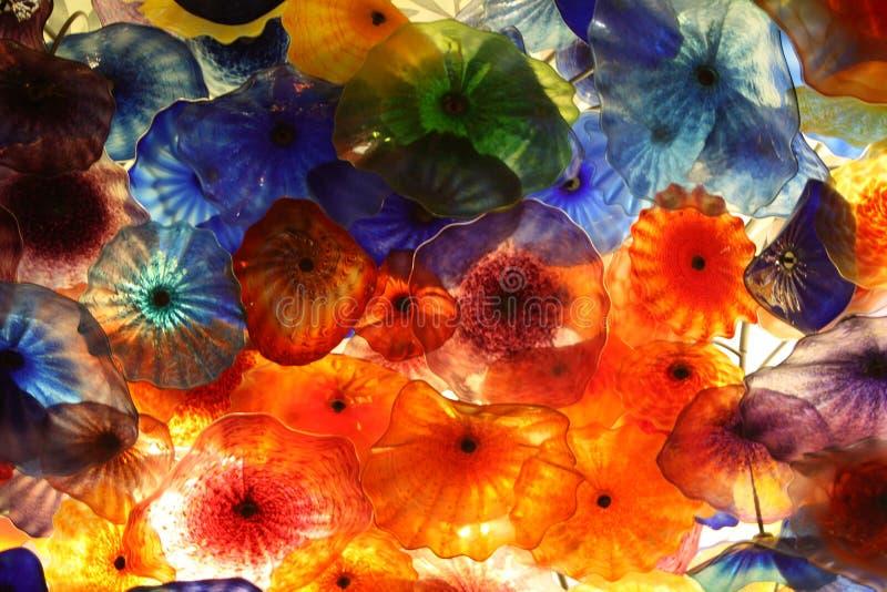 1块抽象玻璃 库存照片