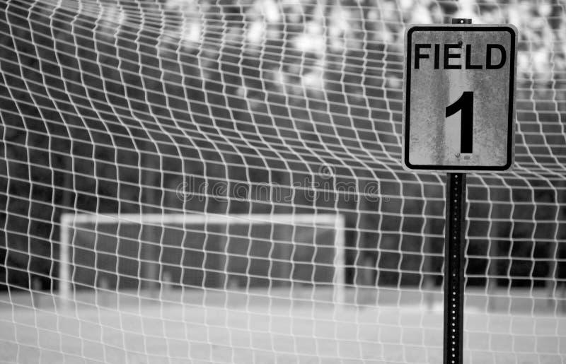 1域足球 免版税库存图片
