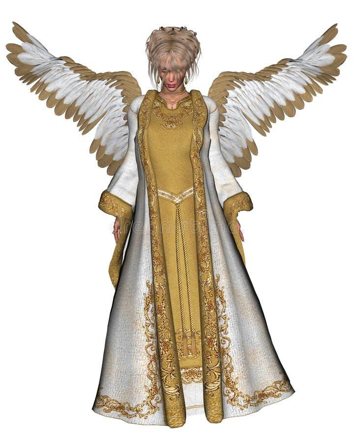 1天使圣诞节 向量例证