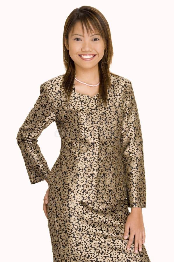 1女孩马来语 免版税库存图片