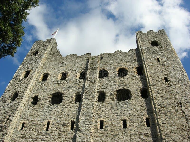 1座城堡罗切斯特 免版税库存照片