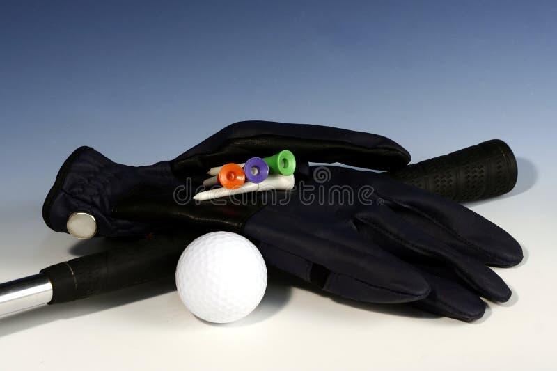 1手套高尔夫球 库存图片