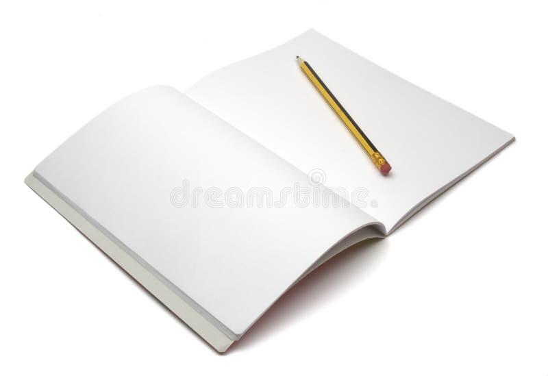 1支笔记本铅笔 库存照片