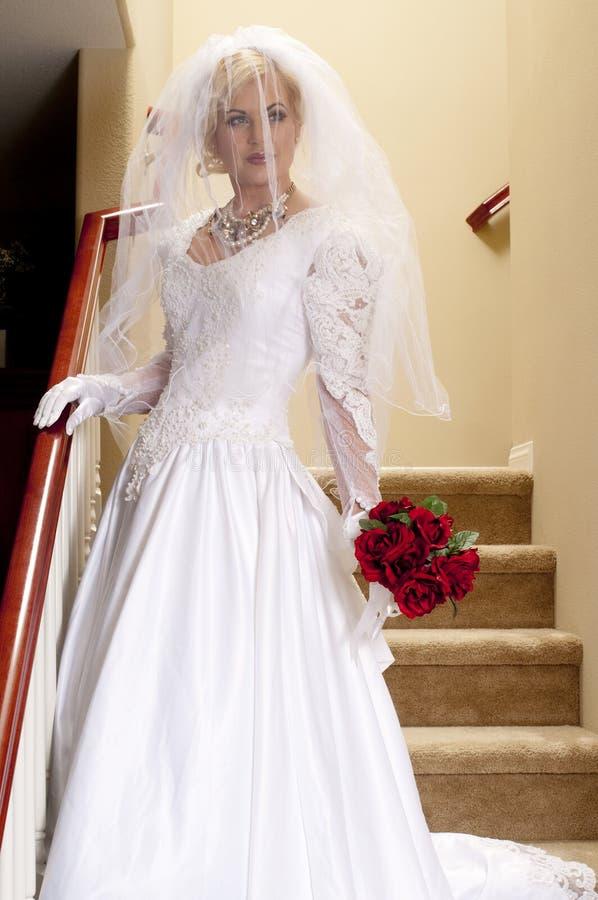 1新娘脱衣舞 免版税库存照片