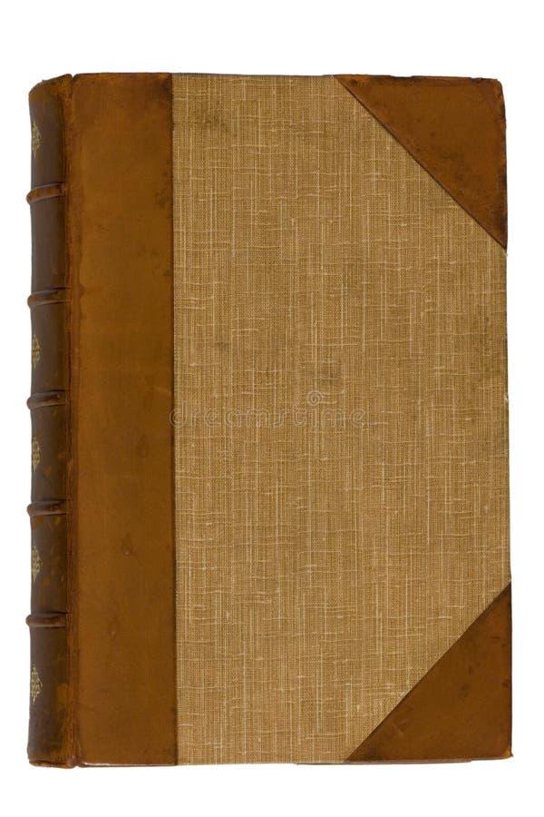 1本古色古香的书 免版税库存图片