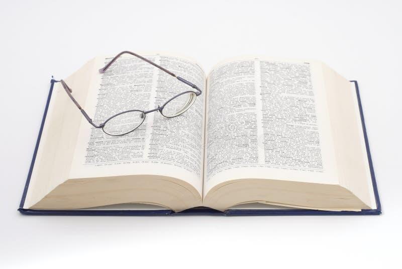 1本词典 图库摄影