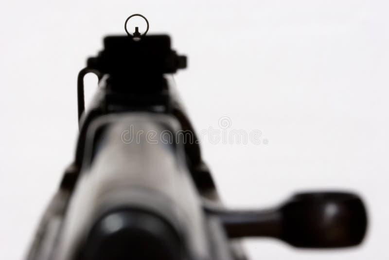 1杆枪 免版税库存照片