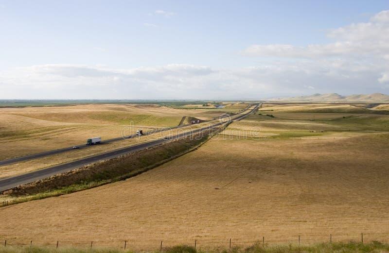 1条加利福尼亚高速公路 免版税库存照片
