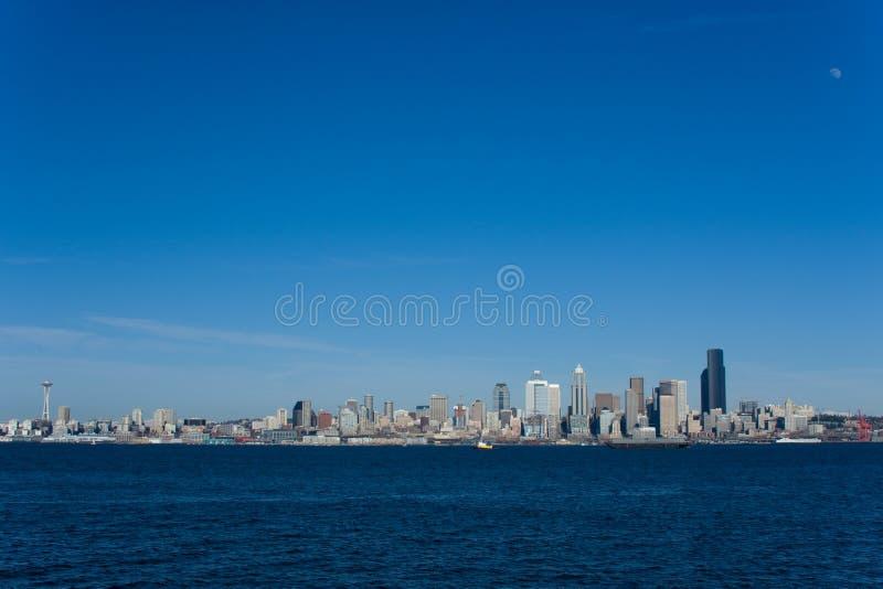 1条西雅图地平线 库存照片