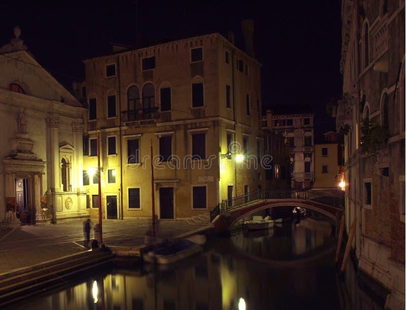 1条运河威尼斯 免版税库存照片